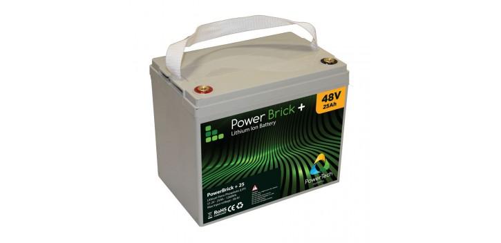 Batería de litio PowerBrick + 12V 100Ah