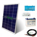 Kit solar 100Wc mono - 55Ah - 250VA