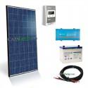 Kit solar 260W poly - 100Ah - 250VA