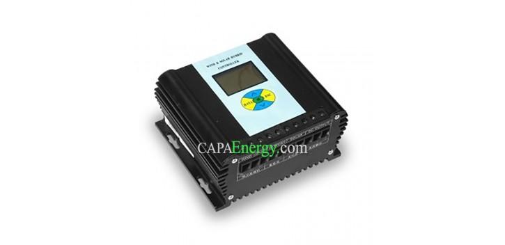 Régulateur de charge Hybride 12 ou 24V 30A
