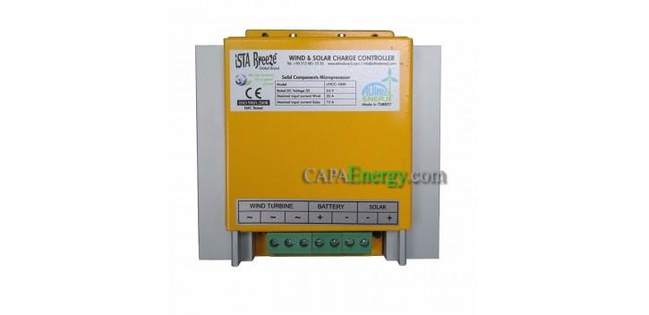 24v-1000w Hybride-charge-contrôleur-istabreeze connexion solaire-PV-F-Eolienne