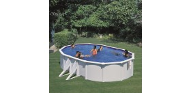 Swimming pool BORA BORA: Oval 610 x 375 x 120 cm - KITPROV613