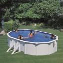 Piscine BORA BORA: Ovale 610 x 375 x 120 cm - KITPROV613