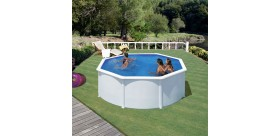 Swimming pool FIDJI: Round Ø 240 X 120 cm - KIT240ECO