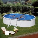 Piscina FIDJI: Oval 610 X 375 X 120 cm - KIT610ECO