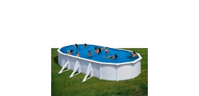 Piscina FIDJI: Oval 730 x 375 x 120 cm - KIT730ECO