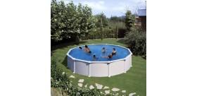 ATLANTIS Pool: Round Ø 550 x 132 cm - KITPR558