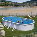 Swimming pool ATLANTIS: Oval 800 x 470 x 132 cm - KITPROV818