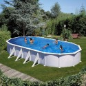Swimming pool ATLANTIS: Oval 1000 x 550 x 132 cm - KITPROV1028