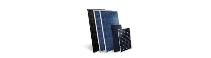 Traditionnels panneaux solaires