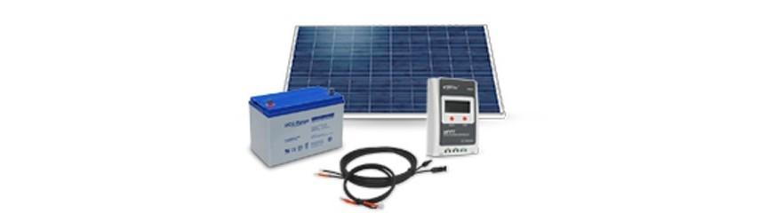 12V-Kits mit Batterien