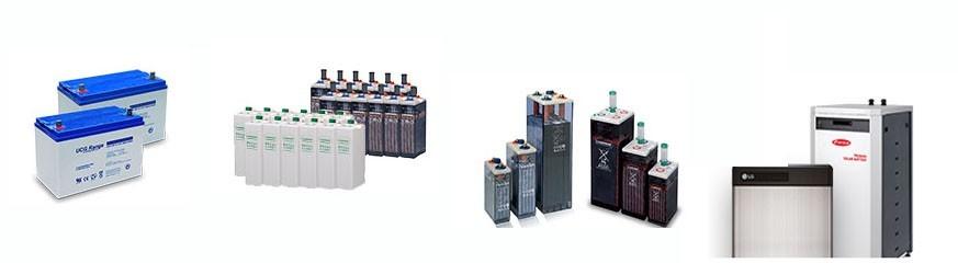 Batteries Solaires