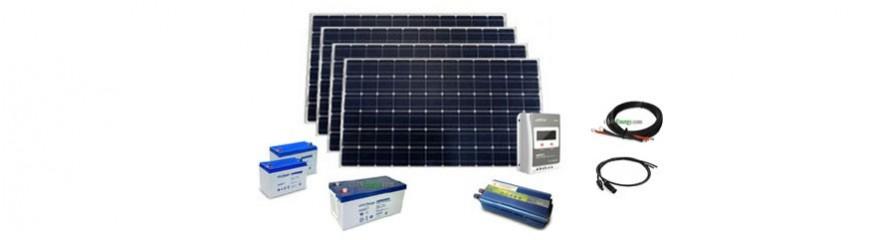 230V AC autonomous solar kits