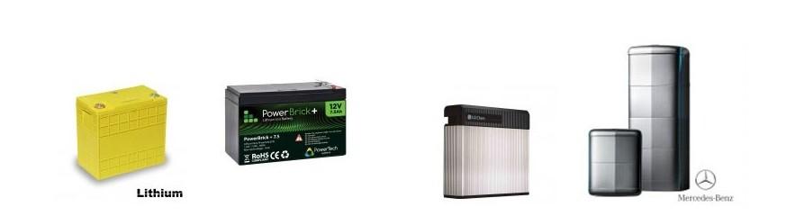 Batteries solaires lithium