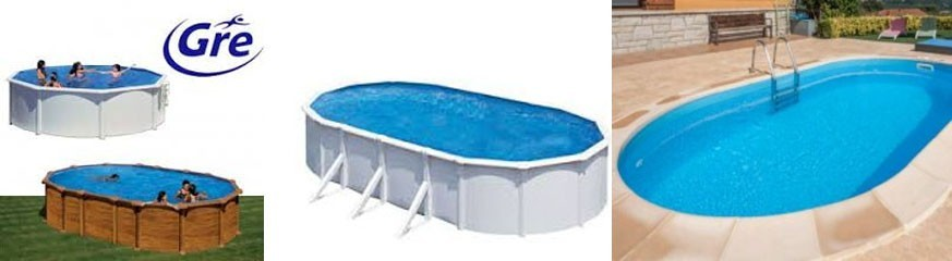 piscina Gre - Fuori terra e piscina sotterranea