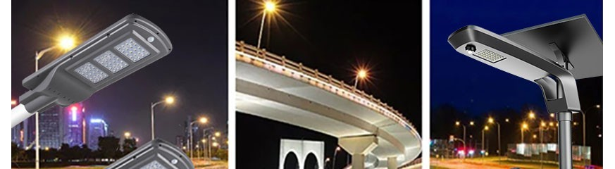 Lampione stradale solare - lampada solare