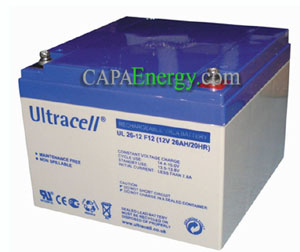 AGM 26ah battery