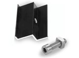 End Clamp for Tile Roof Panels