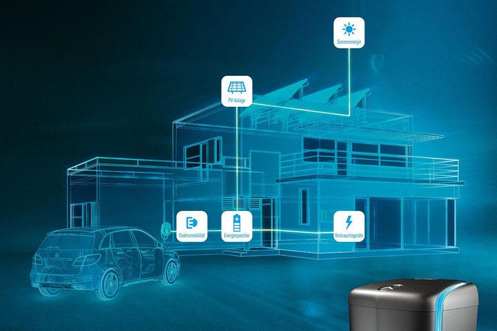 Les qualités de la batterie Home de Mercedes Benz
