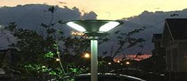 revrbere solaire parking