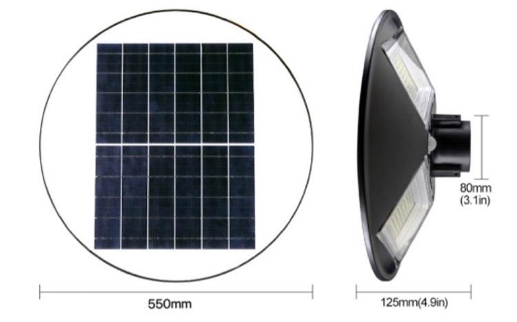 UFO 250 W Solar LED Street Light