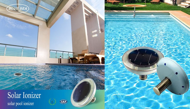 Renewable energy repellent snake ecological and solar - Swimming pool ionizer ...